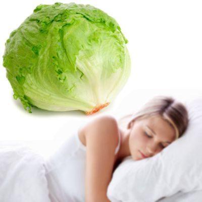 Zumo de lechuga para el insomnio