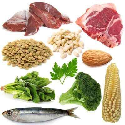¿Qué enfermedades produce la falta de hierro en nuestro cuerpo?
