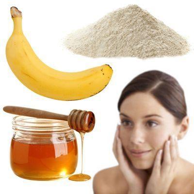 como hacer una mascarilla de avena y miel