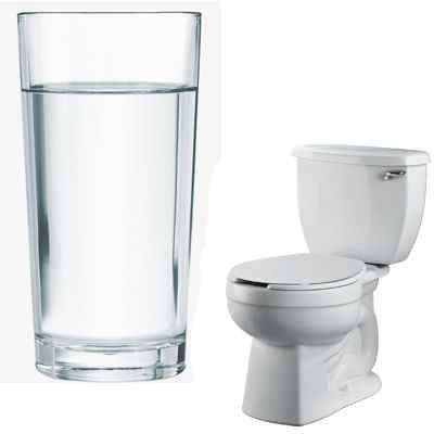 Porque si bebemos mucha agua orinamos mucho
