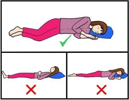 ¿Cómo me acomodo para dormir? Postura para tener un sueño ameno
