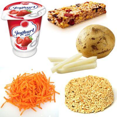 Cosas ricas para comer entre comidas sin engordar