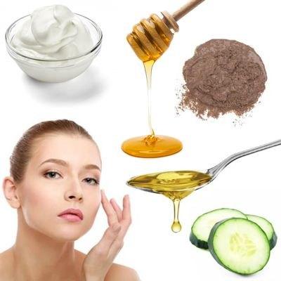 Mascarilla De Pepino Leche Aceite De Oliva Y Lodo Para Las Arrugas Cómo Preparar Una Mascarilla Antiarrugas