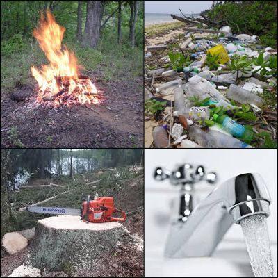 Acciones que demuestren respeto hacia la naturaleza