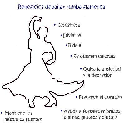 Los beneficios de bailar rumba flamenca