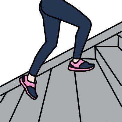 ¿Cuántas calorías se queman subiendo y bajando escaleras 30 minutos?