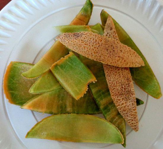 ¿Para qué remedios caseros es buena la cáscara de melón?